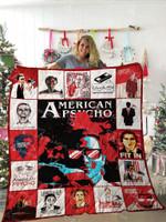 American Pyscho Quilt Blanket