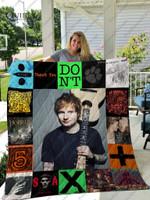 Ed Sheeran Quilt Blanket For Fans
