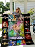 John Cena Quilt Blanket