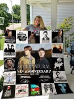 Supernatural Quilt Blanket For Fans Ver 17-1