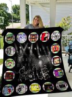 Black Flag Quilt Blanket 0287