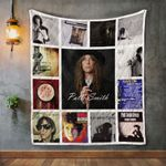 Patti Smith Album Covers Quilt Blanket