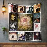 Steve Perry 2 Album Covers Quilt Blanket