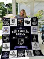 Nhl – Los Angeles Kings 17 Quilt Blanket