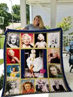 Marilyn Monroe Quilt Blanket