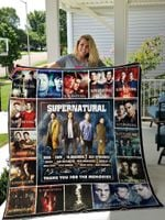 Supernatural Quilt Blanket