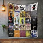 Massive Attack Album Covers Quilt Blanket