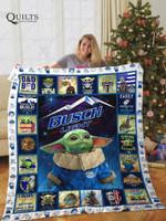 Baby Yoda Busch Quilt Blanket All Season Plus Size Quilt Blanket