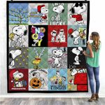 Bc – Snoopy Christmas Snoopy Lover Quilt Blanket