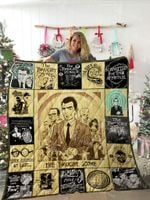The Twilight Zone Quilt Blanket