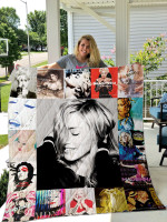 Madonna Quilt Blanket
