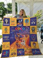 Coco Quilt Blanket For Fans Ver 17