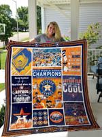 Houston Astros 3 Quilt Blanket