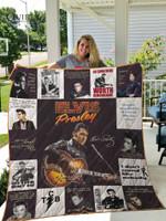 Elvis Presley Quilt Blanket For Fans Ver 17