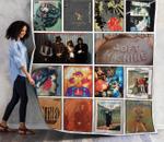 Soft Machine Best Albums Quilt Blanket 01
