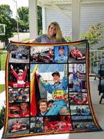 Michael Schumacher Quilt Blanket