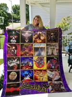 Judas Priest Lp Albums Quilt Blanket