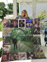 Gregg Allman Albums Quilt Blanket For Fans Ver 17