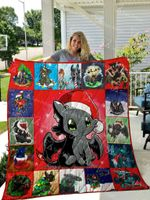 Toothless Quilt Blanket