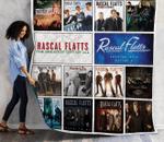 Rascal Flatts Albums Quilt Blanket New Arrival