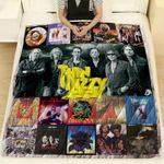 Thin Lizzy Albums Quilt Blanket