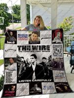 The Wire T-Shirt Quilt Blanket For Fans