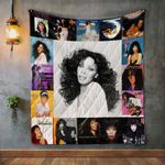 Donna Summer Album Covers Quilt Blanket