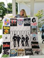 The Kinks Quilt Blanket