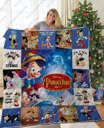 Pinocchio Quilt Blanket