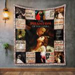 The Phantom Of The Opera Quilt Blanket