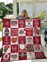 Ohio State Buckeyes Quilt Blanket 02