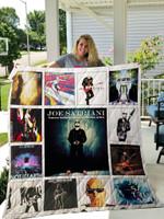 Joe Satriani Albums Quilt Blanket For Fans Ver 13