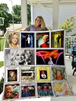 Dolly Parton Quilt Blanket