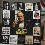 The Godfather T-Shirt Quilt Blanket Ver.3
