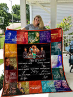 Switched At Birth Quilt Blanket 01