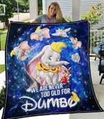 Dumbo Quilt Blanket