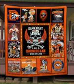 Denver Broncos Ver 11 All Season Plus Size Quilt Blanket