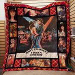 Urban Cowboy Quilt Blanket