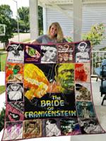 Bride Of Frankenstein Quilt Blanket