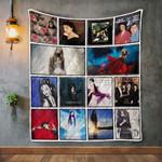 Sarah Brightman Album Covers Quilt Blanket