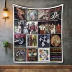 The Cars 3 Album Covers Quilt Blanket