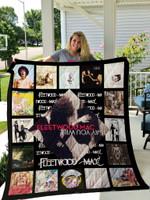 Fleetwood Mac Studio Albums Quilt Blanket