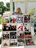 One Direction Quilt Blanket