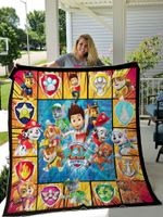Paw Patrol Style 2 Plus Size Quilt Blanket