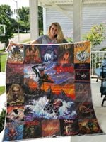 Ronnie James Dio Albums Quilt Blanket For Fans Ver 17