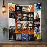Rammstein Style 2 Quilt Blanket