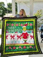 Grinch Quilt Blanket 01426