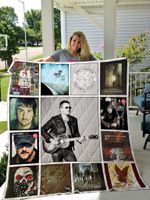 Eric Church Albums Quilt Blanket 02
