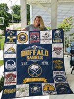 Buffalo Sabres Quilt Blanket Ver 17