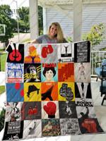 Rocky Balboa Quilt Blanket
